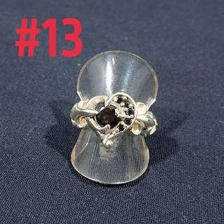 silver925 フレアハートring#13(リング(指輪))
