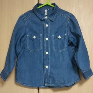 サマンサモスモス(SM2)のSM2デニムシャツ(Tシャツ/カットソー)