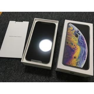 iPhone - 【SIMフリー】 Apple iPhone XS Silver 256GB