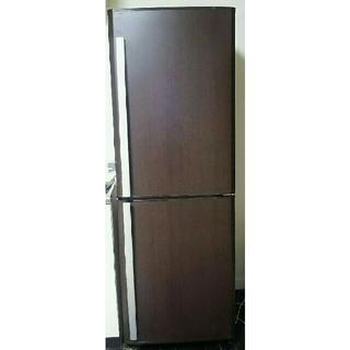 ミツビシデンキ(三菱電機)の三菱 冷凍冷蔵庫  256L 2008年製 プレミアムウッド(冷蔵庫)