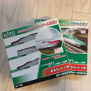 カトー(KATO`)のNゲージ KATO スーパーこまち&はやぶさセット  ジャンク品(鉄道模型)