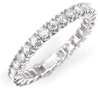 ベーネベーネ ローズカット ダイヤモンド フルエタニティ リング 指輪 プラチナ(リング(指輪))
