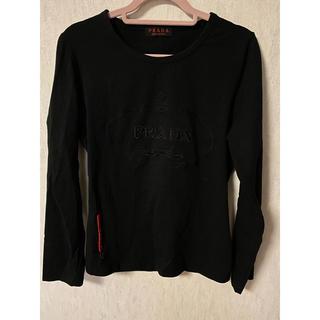 ロキエ(Lochie)のPRADA Tシャツ レザージャケット set(Tシャツ(長袖/七分))