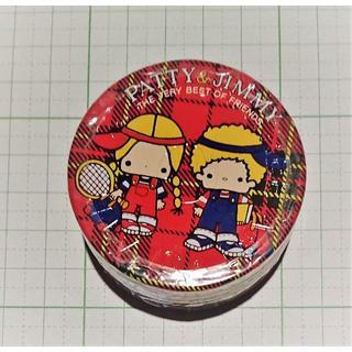 サンリオ - レア パティ&ジミー缶 シーツリーアート×サンリオ全身用保護クリーム30g