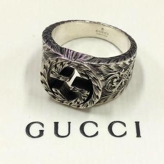Gucci - ★中古★GUCCI グッチ インターロッキング G シルバーリング 21号