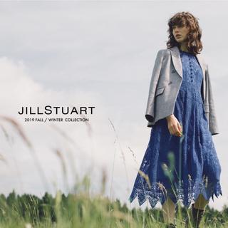 2019AW ■ JILLSTUART  ノアフェイクスエードラップ風スカート