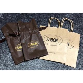 サボン(SABON)のSABONのギフト袋(ラッピング/包装)