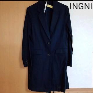 イング(INGNI)のほぼ新品INGNIロングジャケット(ノーカラージャケット)