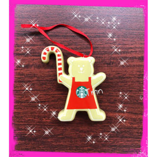 Starbucks Coffee - ラスト❗️スターバックス クリスマスオーナメント ベアリスタ