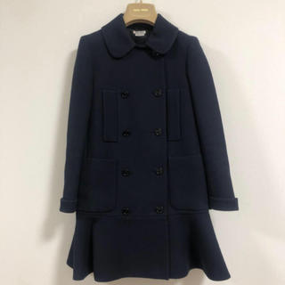 miumiu - miumiu★ネイビー コート★定価20万