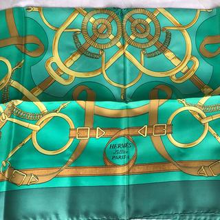 エルメス(Hermes)のHERMES エルメス カレ90 Pellier 馬具柄 剣柄 シルクスカーフ(バンダナ/スカーフ)