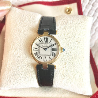 Cartier - カルティエ Cartier オパラン シルバー ヴェルメイユ ヴァンドーム 時計