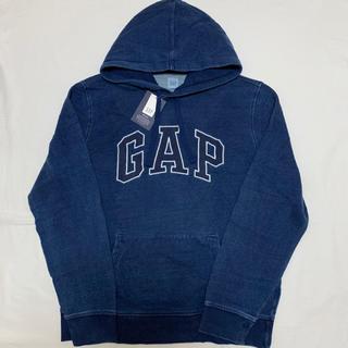 GAP - 新品 定価7990円 ギャップ  デニム ロゴ パーカー L トレーナー メンズ