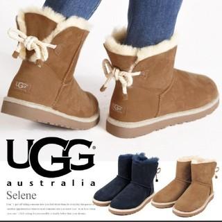 UGG - UGG ブーツ SELENE ロープリボン レア  25センチ