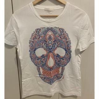 アレキサンダーマックイーン(Alexander McQueen)の【Alexander MaQueen】白 Tシャツ(Tシャツ/カットソー(半袖/袖なし))