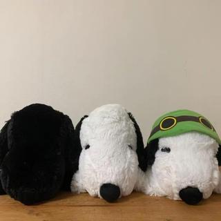 SNOOPY - スヌーピー 寝そべりキュートぬいぐるみ 3種類セット ★