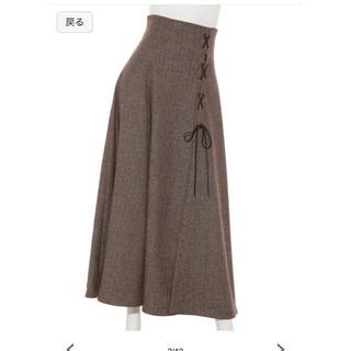 snidel - スナイデル 石原さとみ着用 サイドスリットスカート
