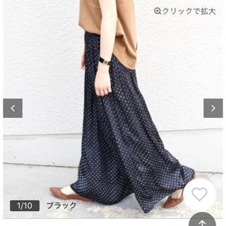 SHIPS - 【店頭購入・美品】ドットギャザーパンツ⭐️定価16280円