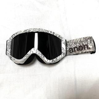 BURTON - アノン ゴーグル スノボ スノーボード 白 黒 バートン オークリースノボスキー