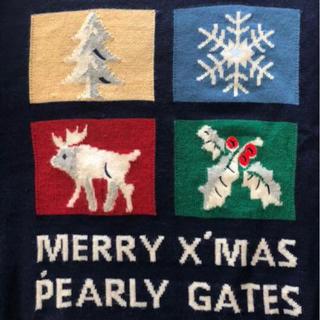 パーリーゲイツ(PEARLY GATES)のパーリーゲイツ ニット美品 クリーニング済(ニット/セーター)