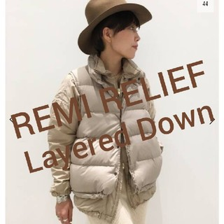 L'Appartement DEUXIEME CLASSE - アパルトモン☆REMI RELIEF/レミレリーフ☆Layered Down