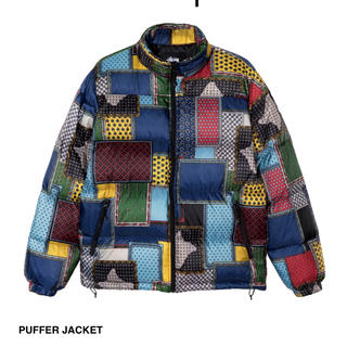 STUSSY - stussy  puffer jacket