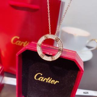 Cartier - カルティエ ラブネックレス ダイヤモンド