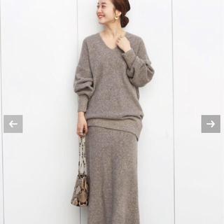 IENA - 【新品タグ付き】IENA chere Si/Li ネッププルオーバー&スカート