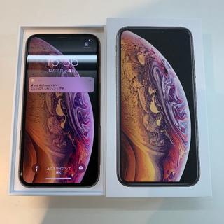 Apple - 超美品 SIMフリー iphoneXS 64GB 付属品新品