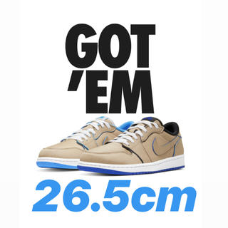 NIKE - NIKE SB AIR JORDAN 1 LOW QS 26.5cm