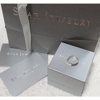 スタージュエリー(STAR JEWELRY)のSTAR JEWELRY   ダイヤモンド シルバーリング(リング(指輪))