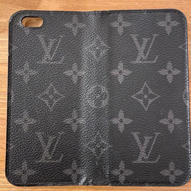 LOUIS VUITTON - iPhoneケース!ルイヴィトン黒の通販