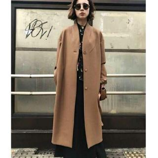 Ameri VINTAGE - Ameri vintage☆ SIMPLE NO COLLAR COAT