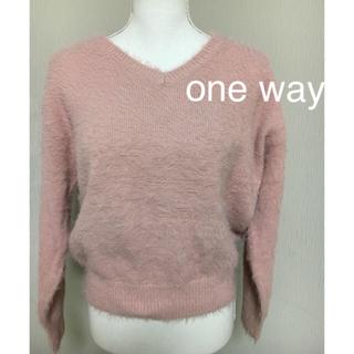 one*way - one  way セーター