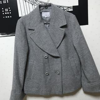 22 OCTOBRE - 本日のみ22オクトーブル 東京スタイル アンゴラ入りコート