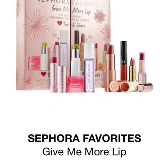 Sephora - 新品!sephoraリップセット 8本入りクリスマスセール