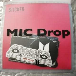 BTS MICDrop ステッカー(アイドルグッズ)