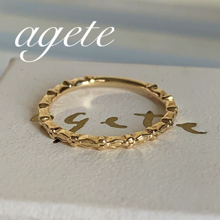 agete - agate🕊K10⚜️クラシカルリング