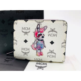 エムシーエム(MCM)の⭐️ 極美品 エムシーエム ラビットシリーズ コンパクトウォレット 二つ折り財布(財布)