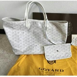 GOYARD - 極美品!ゴヤール サンルイPM ホワイト
