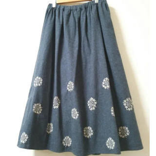 SM2 - サマンサモスモス*起毛刺繍スカート