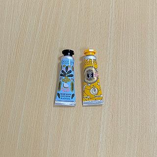 L'OCCITANE - ロクシタン ホイップシア ディライトフルティー  シアハンドクリーム2本セット