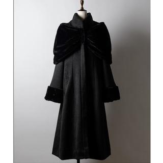 ラベルエチュード(la belle Etude)のラベルエチュード vintage調女優コート(ロングコート)