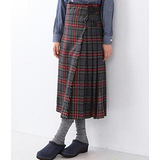 BEAMS BOY - ビームスボーイ タータンチェック キルトスカート