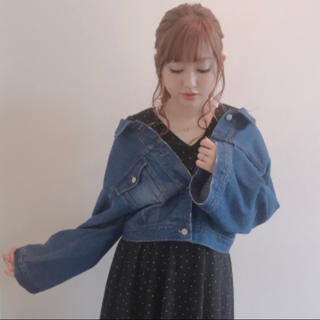 スパイラルガール(SPIRAL GIRL)の菊地亜美ちゃん着用 スパイラルガール オーバーGジャン(Gジャン/デニムジャケット)