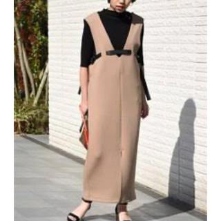 Ameri VINTAGE - Eimee Law デザインベルトボンディングジャンパースカート