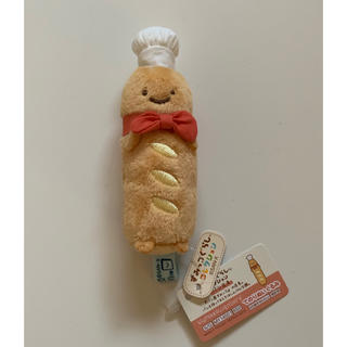 サンエックス - すみっコぐらし すみっコパンきょうしつ てのりぬいぐるみ パン店長