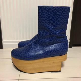 ヴィヴィアンウエストウッド(Vivienne Westwood)のヴィンテージ vivienne westwood クロコ ロッキンホース 激レア(ローファー/革靴)