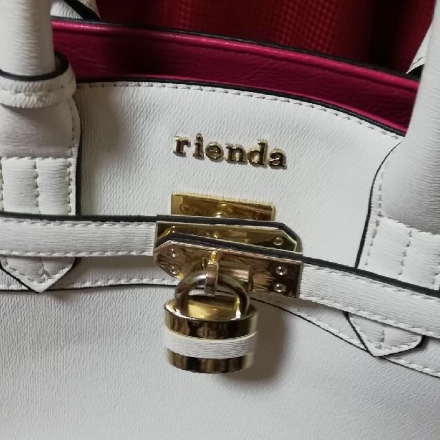 rienda(リエンダ)の美品 リエンダ バッグ レディースのバッグ(トートバッグ)の商品写真
