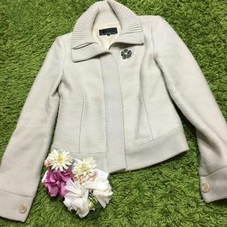 M-premier - 美品エムプルミエ 美ラインニットジャケット